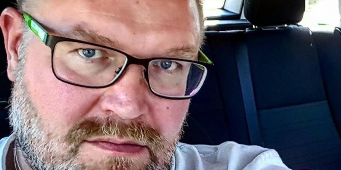 SKP:n puheenjohtaja JP (Juha-Pekka)Väisänen