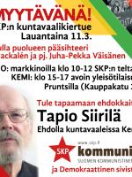 Kemi ja Tornio Ei myytävänä!